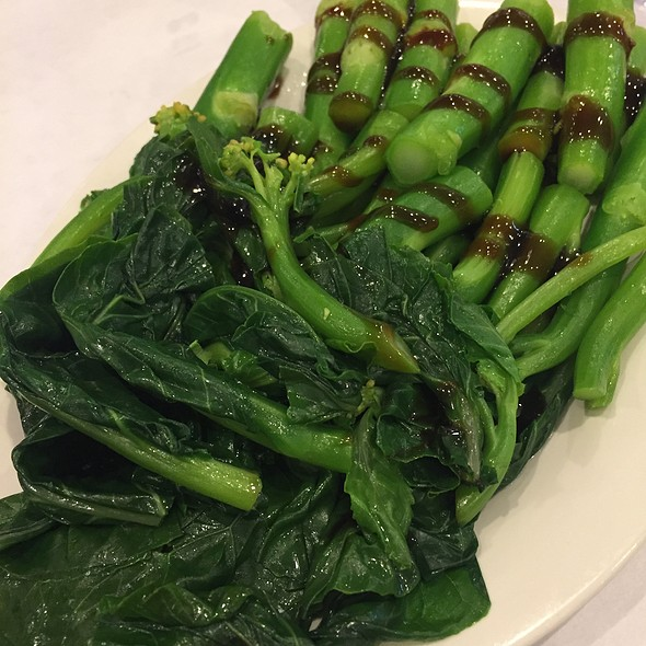 Chinese Broccoli With Oyster Sauce @ Li Wah