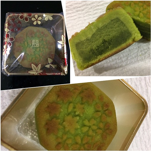 Maccha Mooncake @ Minamoto Kitchoan