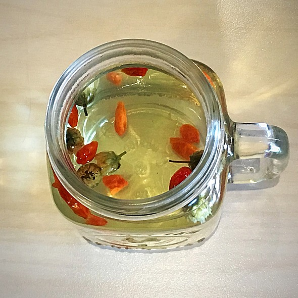 Chrysanthemum And Goji Berry Tea @ Sweet Home Glad
