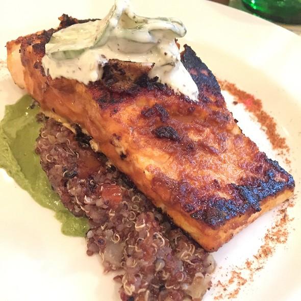 Tandoori Salmon @ Louie's Wine Dive