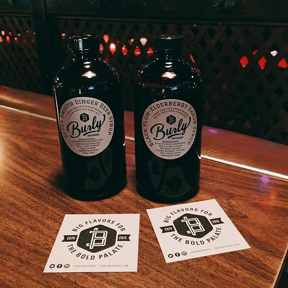 Black Plum Elderberry Shrub Syrup, And Super Smooth Ginger Beer Syrup @ Burly Beverages