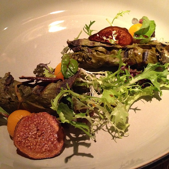 Rabbit In Vine Leaf @ restaurant Belle