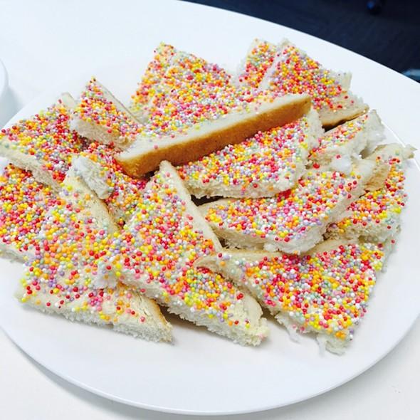 Fairy Bread @ Chookys Work