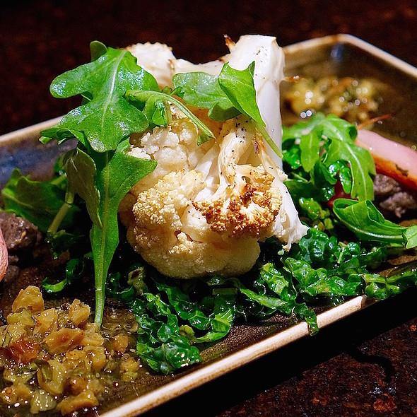 Wood Roasted Cauliflower