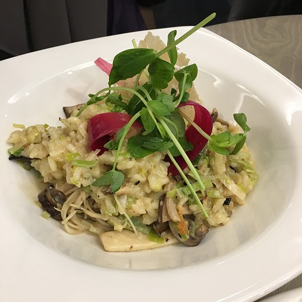 Wild Mushroom And Leek Risotto @ Holiday Inn Express Manchester - East