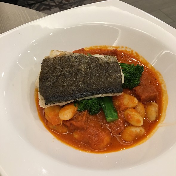 Pan Seared Fillet Of Cod @ Holiday Inn Express Manchester - East