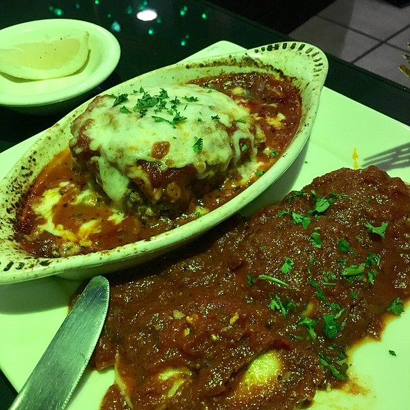 1/2 Lasagna 1/2 Ravioli
