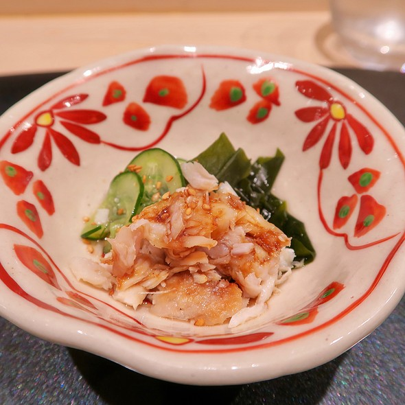Japanese Mackerel With Cucumber And Wakame