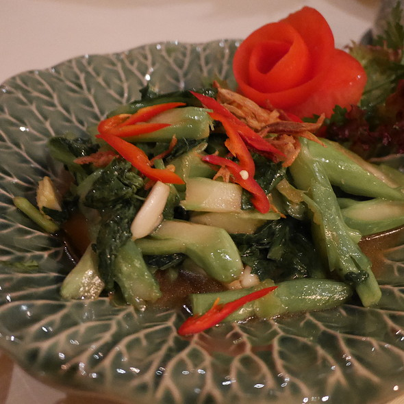 Green Vegetables @ Sila-Thai