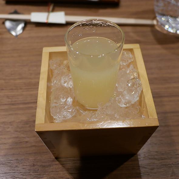 Sake Yuzu Cocktail @ Yoshi by Nagaya