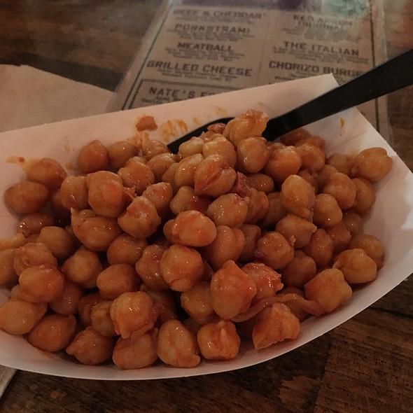 Fried Chickpeas And Chorizo