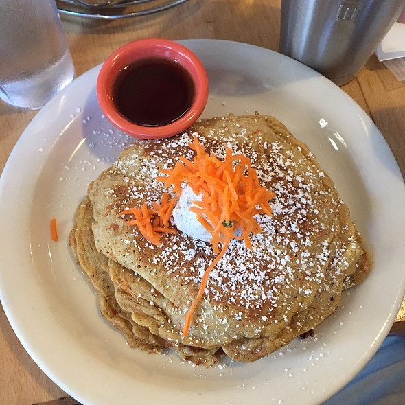 Carrot Cakes Pancakes - Triple Stack