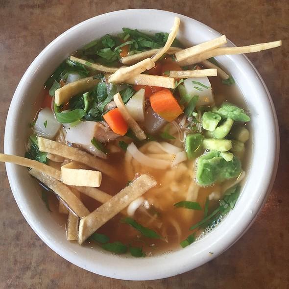 Ruben's Tortilla Soup @ Lopez Mexican Restaurant