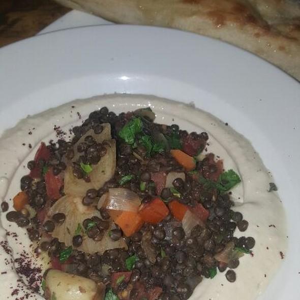 Lentils, Veggies And Foccacia