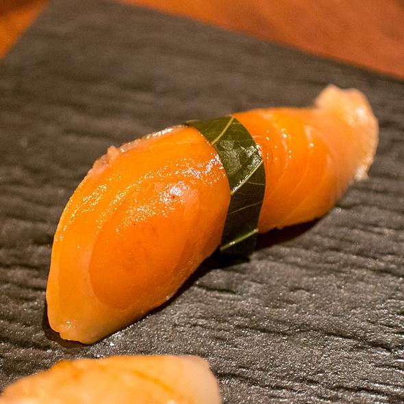 Sakura Masu (Cherry Salmon) Nigiri