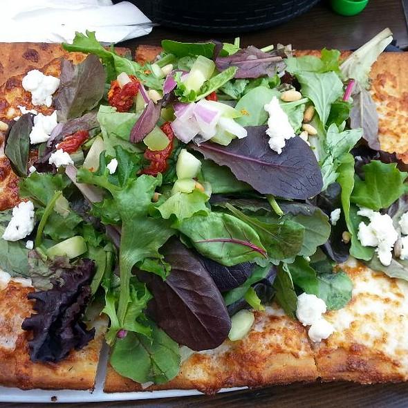 Pizza Salad @ Rock & Brews Corona