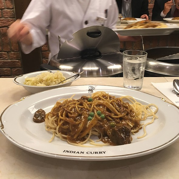 Curry Spaghetti With Beef