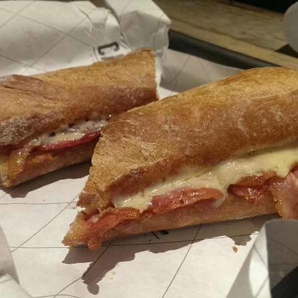 Bacon And Cheese Baguette