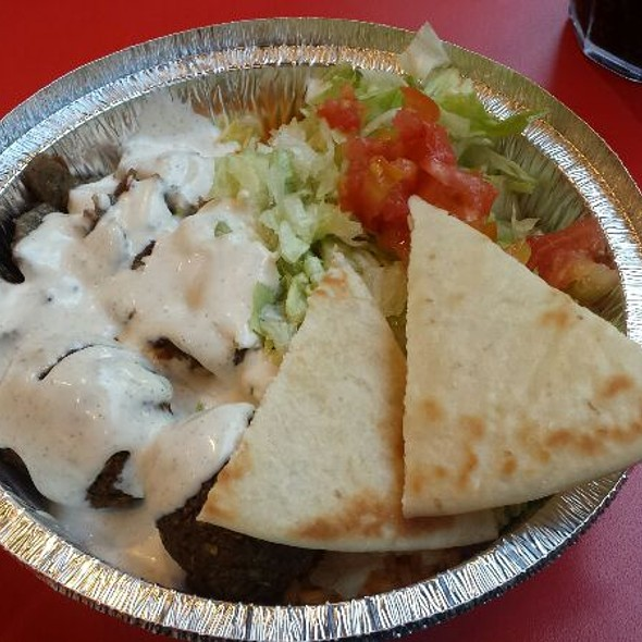 Palafel And Gyro Plate