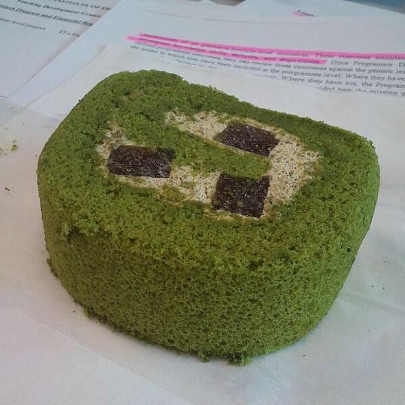 Matcha Roll farewell Cake