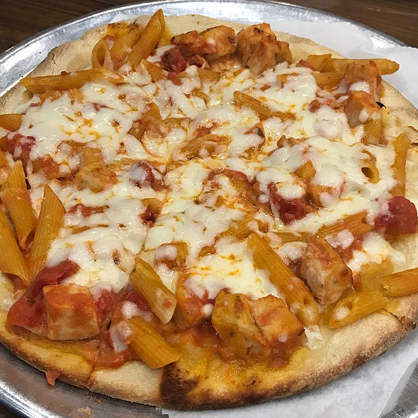 Penne Vodka Pizza
