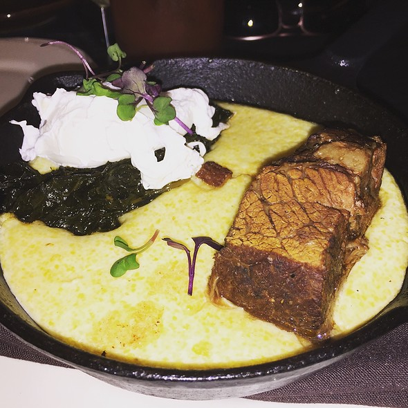 Short Rib With Polenta And Poached Eggs @ Short Ribs With Eggs And Polenta