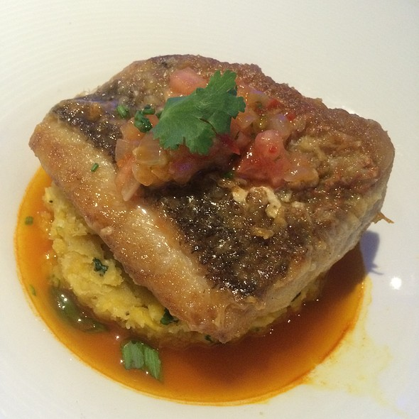 Red Snapper W Mofongo @ Zest @ Water And Beach Club