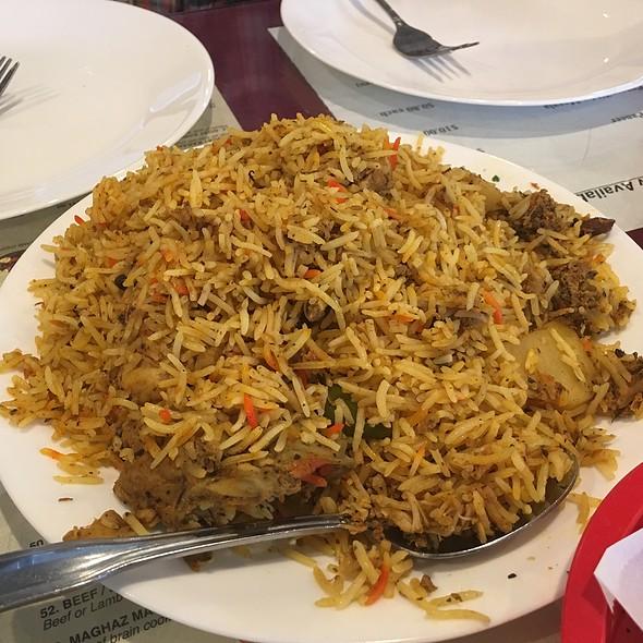 Chicken Biryani @ Al-Watan Halal Tandoori
