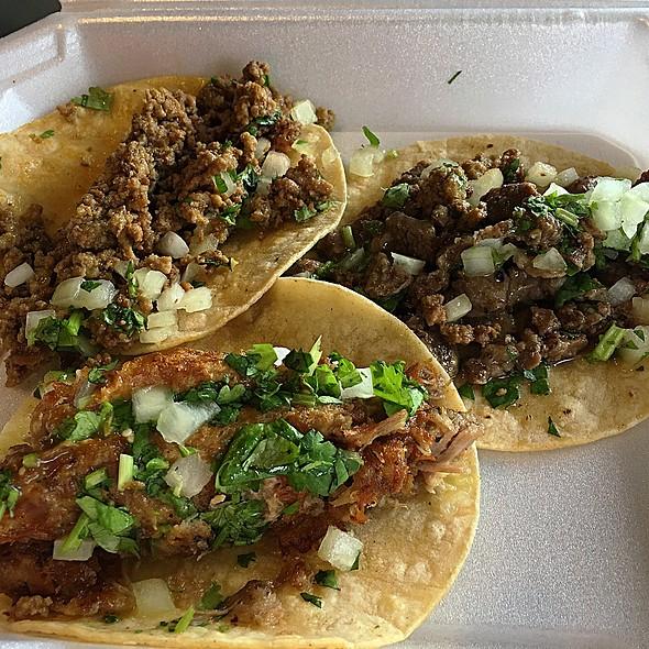 street tacos @ Alejandro's Mexican Food
