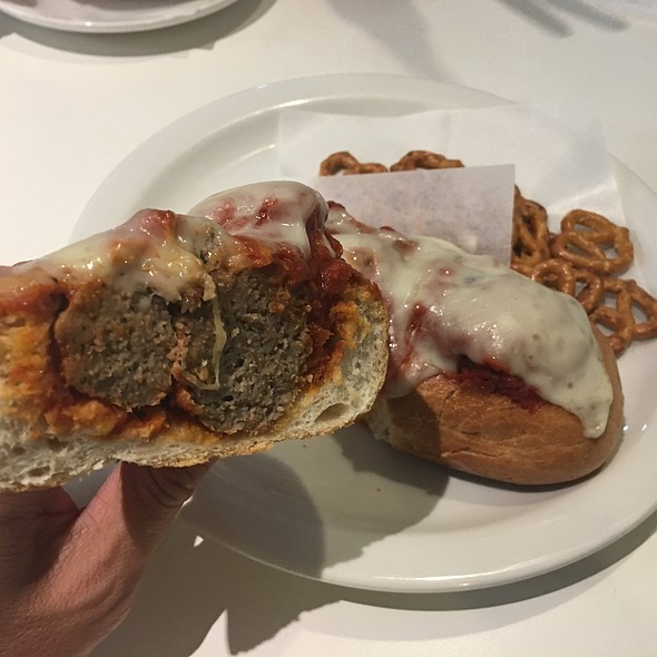 Meatball Sub @ Sure Shot Cafe