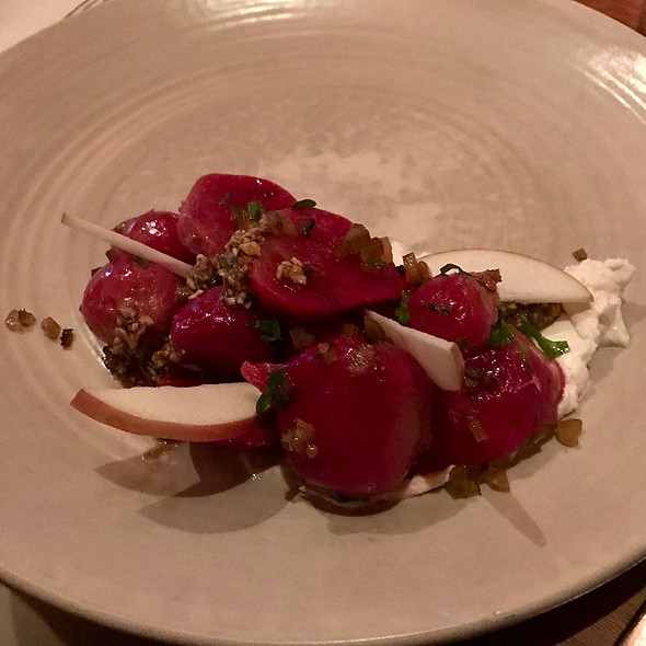 Beets With Chevre