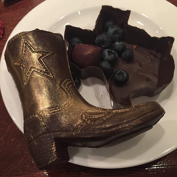 Texas Chocolate @ SER steak+spirits at the Hilton Anatole Hotel