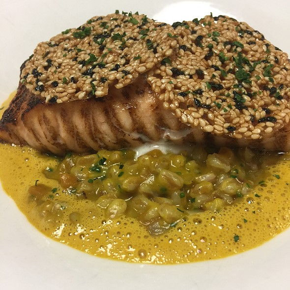 Salmon with Farro