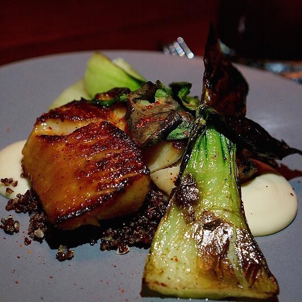 Black cod, parsnip, bok choy, shiitake, quinoa
