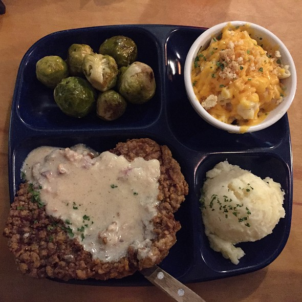 Chicken Fried Steak @ Brenda's Meat And Three
