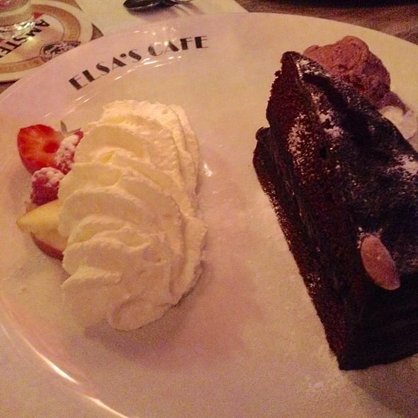 Chocolate Cake @ Café Elsa's