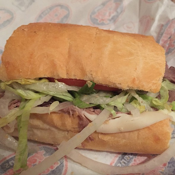 Roast Beef & Provolone Sandwich @ Jersey Mike's Subs