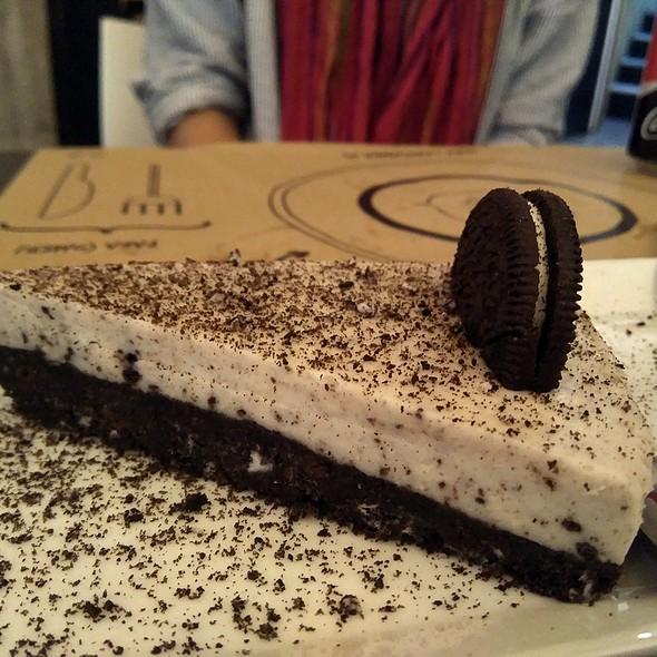 Oreo Cheesecake @ La H Es Muda