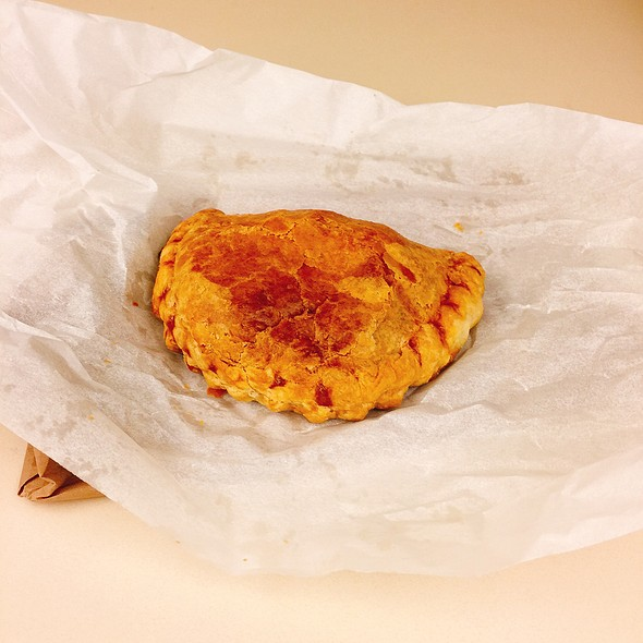 Bacon And Potato Empanada @ fluid espresso bar
