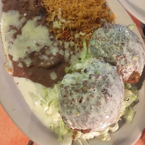 Stuffed Avocados @ La Huerta Mexican Restaurant