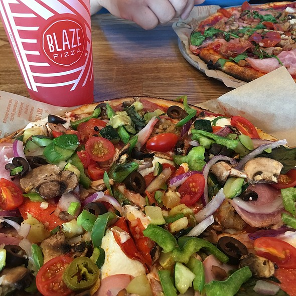 My Own Creation @ Blaze Pizza