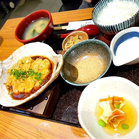 Miso Katsu Teishoku @ Yayoi Japanese Teishoku Restaurant