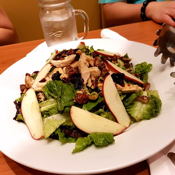 Chicken Cranberry Apple Salad @ Denny's Diner