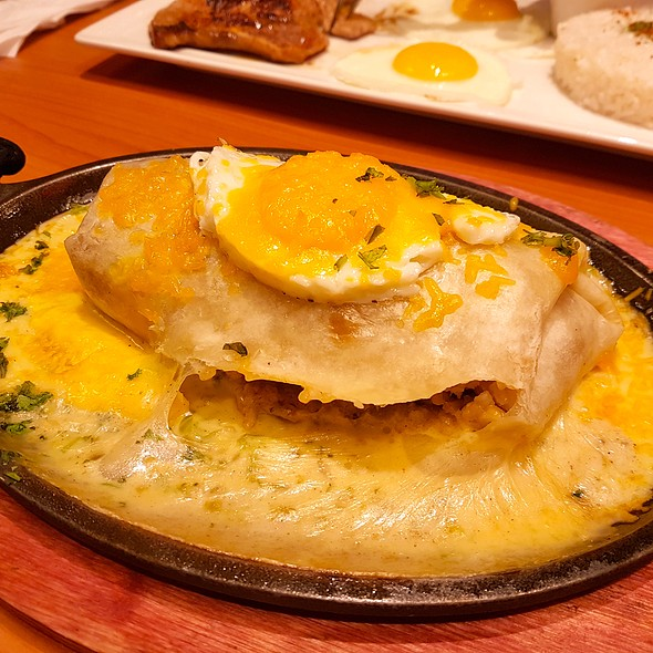 Skillet Wrap @ Denny's Diner