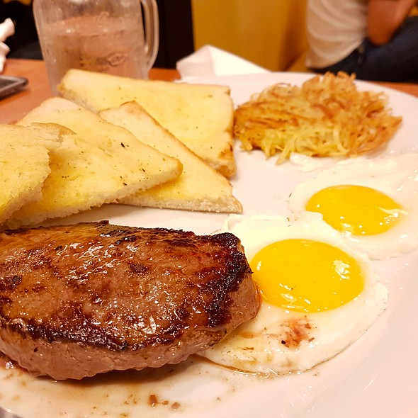 Steak and Eggs @ Denny's Diner
