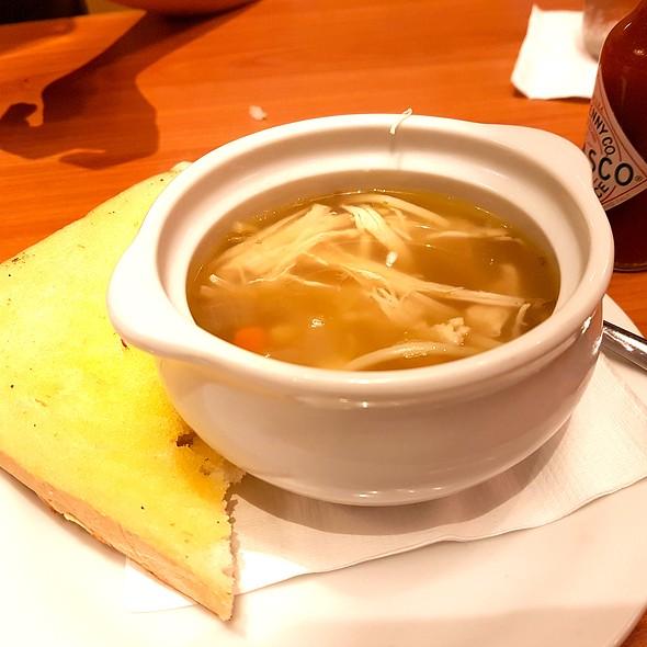 Chicken Noodle Soup @ Denny's Diner