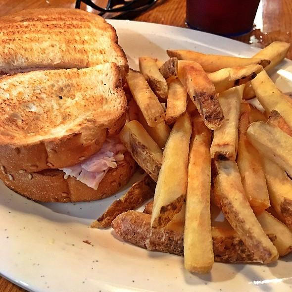Smoked Turkey Sandwich With Fries @ Bono's