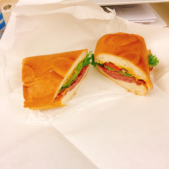 Salame Sandwich @ Zia's Delicatessen