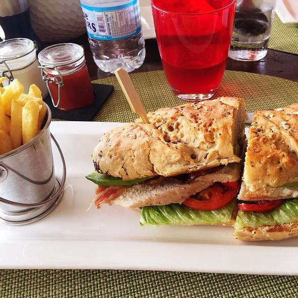 Chicken Sandwich @ Bayside Restaurant