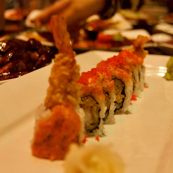 Volcano Roll @ Jimmy Wan's Restaurant and Lounge
